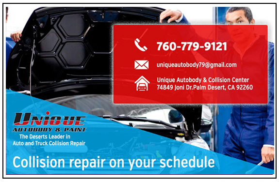 Unique autobody and Paint in palm Desert