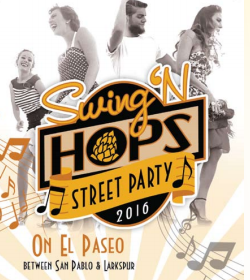 Swing N' Hops Street Party palm Desert