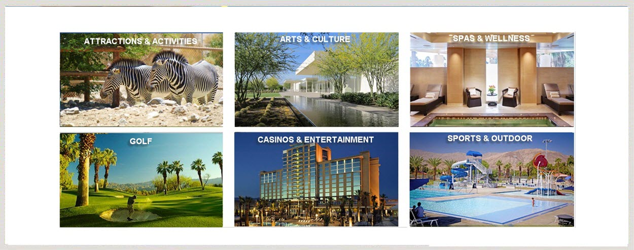 palm desert california hotels resorts restraunts events vacation rentals
